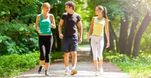 villa aina running and walking