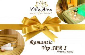 VIP SPA I - GIFT VOUCHER FOR 3 HOURS