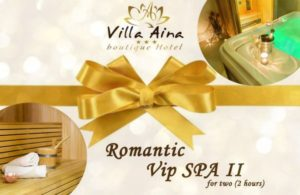 VIP SPA II - GIFT VOUCHER FOR 2 HOURS